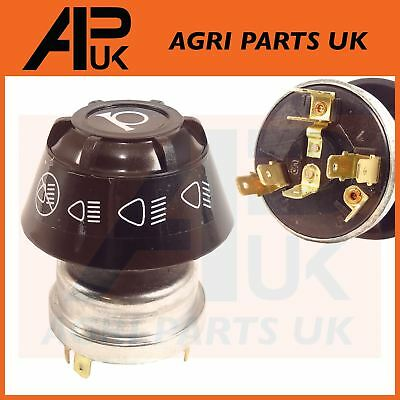Massey Ferguson 135 165 240 290 590 595 MF Tractor Headlight Light Switch & Horn