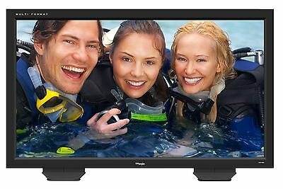 TV Logic LHM-460A 42 Inch Multi Format Broadcast LCD Monitor with DVI and HDMI