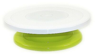 Lets Get Baking Green Cake Decorating Rotating Icing Kitchen Display Turntable