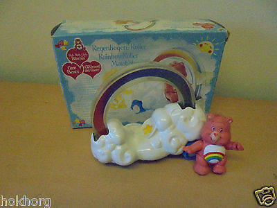 Vintage C1984 Palitoy Kenner Uk Care Bears Rainbow Roller Boxed Toy Tri Logo
