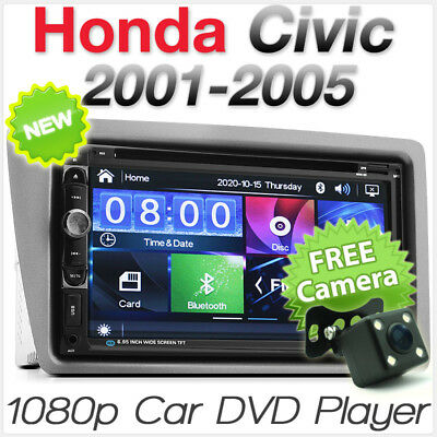 Car DVD Player USB Radio For Honda Civic EP2 EP3 Facia Fascia Kit Hatch Stereo E