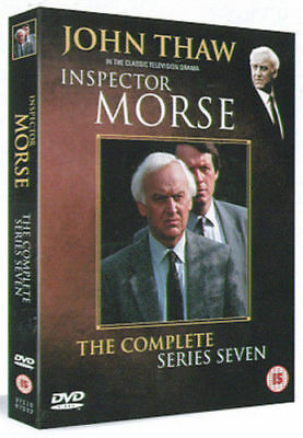 Inspector Morse Complete 7th Series Dvd John Thaw Brand New & Factory Sealed