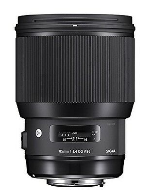 Sigma 85mm F1.4 DG HSM Art canon Mount Lens - Black