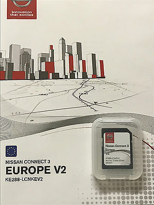 Genuine Nissan Connect 3 Sd Card Latest Navigation Map 2017 Uk And Europe