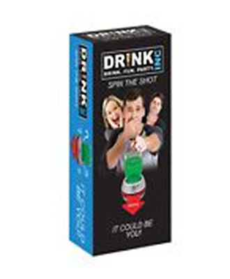 SPIN THE ARROW WHEEL DRINKING GAME Adult Party Shot Glass Spinner Gift Man Cave