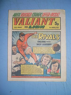 Valiant issue dated March 15 1975