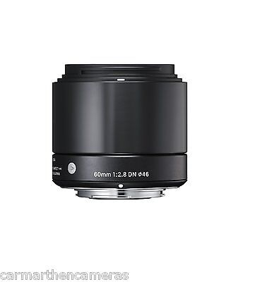 Sigma 60mm F2.8 DN Lens for Sony E mount black