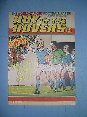 Roy of the Rovers issue dated December 6 1980