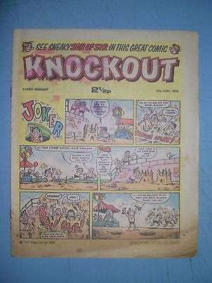 Knockout issue dated June 16 1973