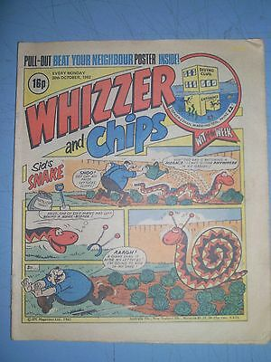 Whizzer and Chips issue dated October 30 1982