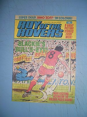 Roy of the Rovers issue dated October 16 1982
