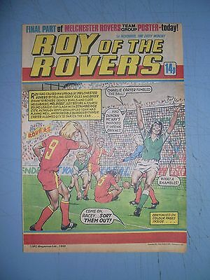 Roy of the Rovers issue dated November 1 1980