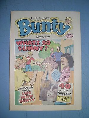 Bunty issue 1641 dated June 24 1989