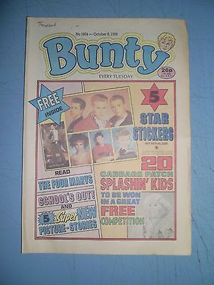 Bunty issue 1604 dated October 8 1988