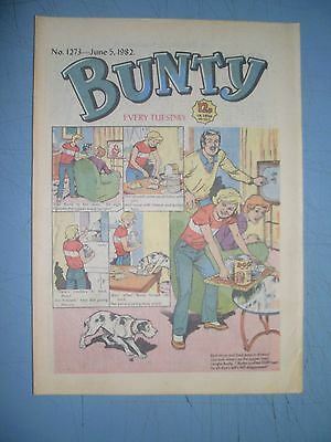 Bunty issue 1273 dated June 5 1982
