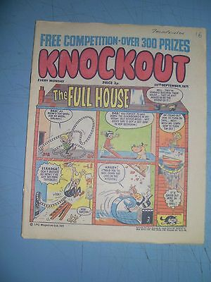Knockout issue dated September 25 1971