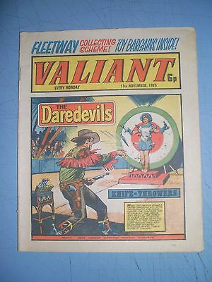 Valiant issue dated November 15 1975