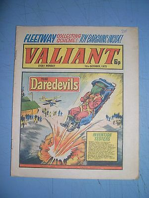 Valiant issue dated October 18 1975