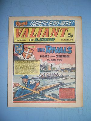 Valiant issue dated March 22 1975