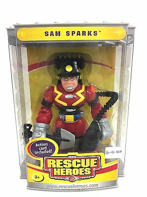 Fisher Price Rescue Heroes Sam Sparks New