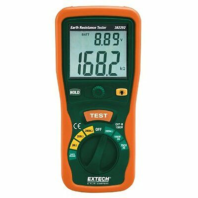Extech Ground Resistance Meters Instruments 382252 Earth Ground Resistance Kit