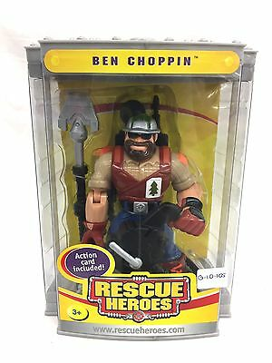 Fisher Price Rescue Heroes Ben Choppin New