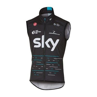 Gilet Team Sky Pro Light Wind Vest Tg. L