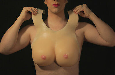 Drag Queen C Cup Silicone Breast Plate  $219