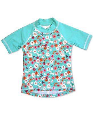 Banz Girls UV Short Sleeved Rash Top | Flowers