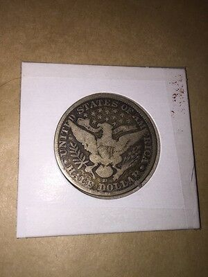 1906 United States Of America Half Dollar -D Fifty Cent Silver Coin