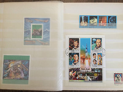 Middle east stamp collection in album, + classical material, sheets, fdc, blocks
