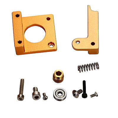 3D Printer MK8 Extruder Right Aluminum Frame Block DIY Reprapi3 All Metal BI90