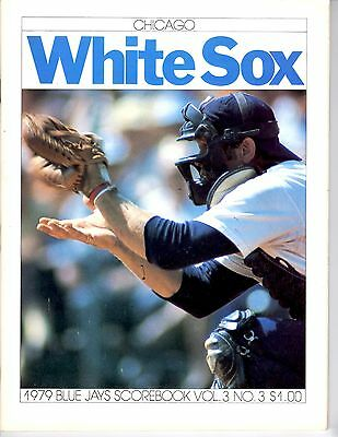 "Toronto Blue Jays 1979 ""Scorebook"" Vol. 3 Issue # 3  Chicago White Sox"