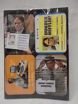 The Office 4 Magnet Set Q4