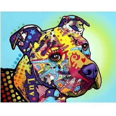 """Pit Bull Luv Dean Russo 8""""x10"""" Print -Free Shipping"""