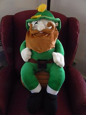 "VERNORS Ginger Ale Soda Pop Stuffed Plush Woody GNOME Mascot Advertising 35"" ELF"