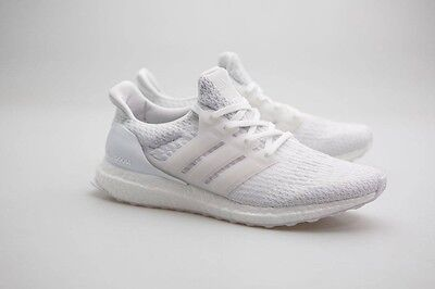 109b733d91d2c3 ADIDAS ULTRA BOOST W Triple White 3.0 Ba7686 White crystal White ...