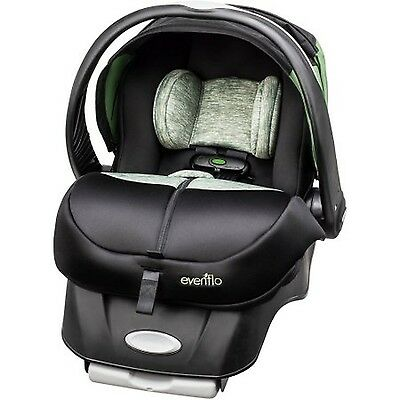 Evenflo Advanced Embrace DLX Infant Car Seat with SensorSafe Peridot