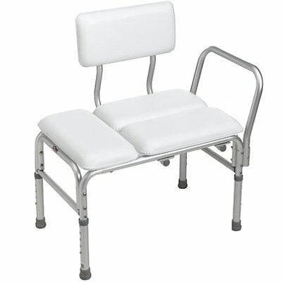 Carex Bath Shower Transfer Benches Deluxe Padded Transfer Bench