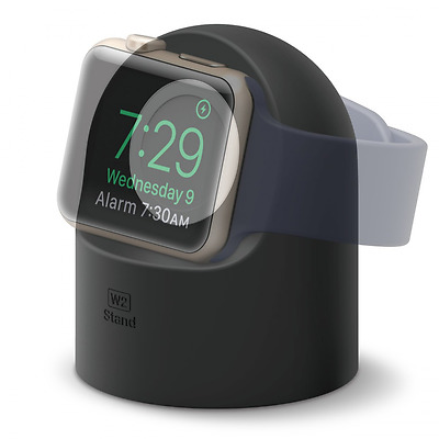 elago W2 Stand [Black] - [Supports Nightstand Mode][Cable Management][Scratch-Fr