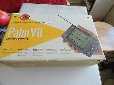 New Palm VII 3Com Connected Organizer PDA.Sealed.