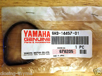 New Old Stock OEM Yamaha Outboard 62Y-11356-00-00 Cylinder Seal O Ring   $