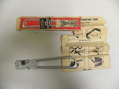 Vintage Acme Combination Tool Glass Cutter and Knife & Scissor Sharpener (A3)