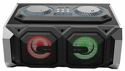 Blackmore BBX-503 Portable & Amplified Music Player Stereo system w/ Bluetooth