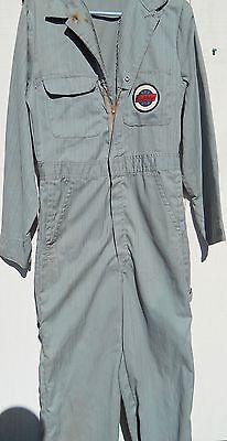 Vintage 1960's Men's Mechanic Green Coveralls Studebaker Men S Med By Penneys