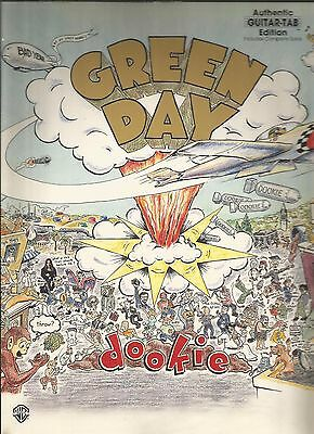 Green Day Dookie Guitar Tab Tablature Song Book Used