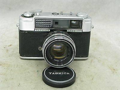 Yashica Lynx-1000 35mm Rangefinder with Case