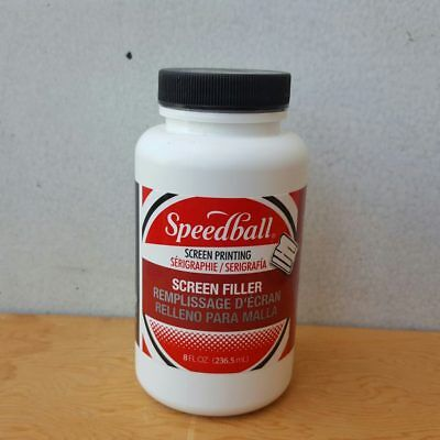Speedball 8oz Silk Screen Printing Printmaking Screen Filler Blockout Fluid