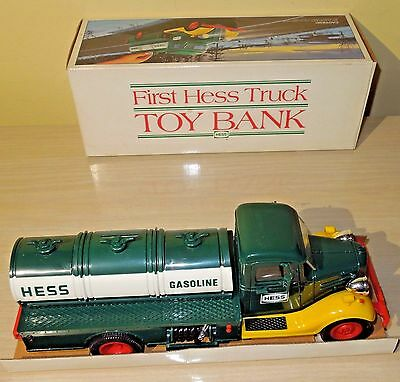 The First Hess Truck Bank 1985 NEW IN BOX READ DESCRITPION FREE FAST SHIPPING!