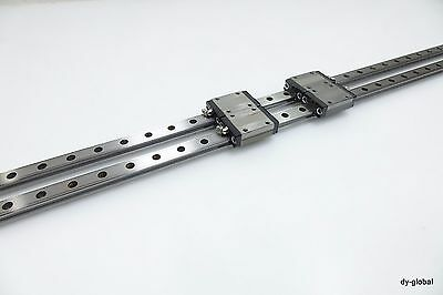 SR20W2UU+1144L LM Guide Linear Bearing THK CNC Router NSK IKO 30mm Pitch 2R 4B